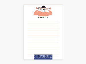 Party of One - Ruth Bader Ginsburg Notepad