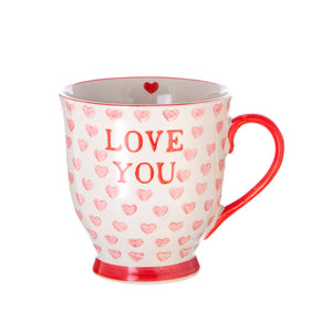 Sass & Belle - Love You Hearts Mug
