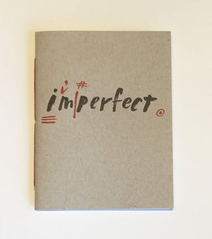 I'm Perfect Notebook Letterpress Journal