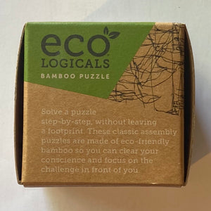 "Eco-Logicals ""Barrely There"" Bamboo Puzzle"
