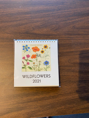 2021 Wildflowers Desktop Calendar