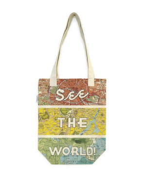 See The World Tote Cavallini