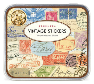 Ephemera Vintage Stickers