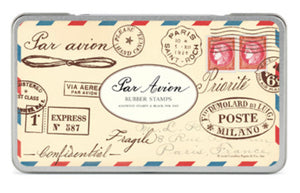 Por Avion Rubber Stamps