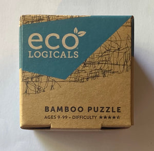 "Eco-Logicals ""The Splinter"" Bamboo Puzzle"