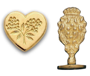 Heart with Flowers Wax Seal Kit