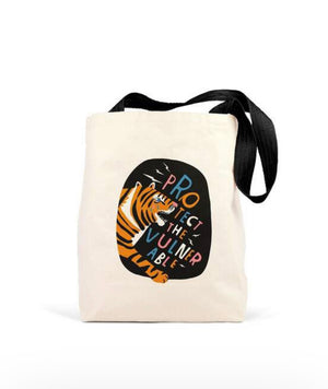 Protect the Vulnerable Tote Bag