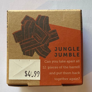 "Eco-Logicals ""Jungle Jumble"" Bamboo Puzzle"