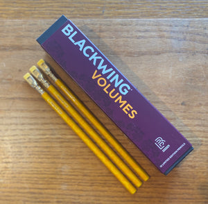 Single Pencil Blackwing Saffron Special Ed. Volumes 3