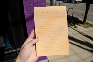 Lined Personalized Notepad
