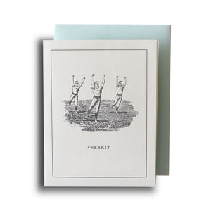 #werkit Letterpress Card