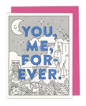 ILP02212 LOV Card You, Me, Forever