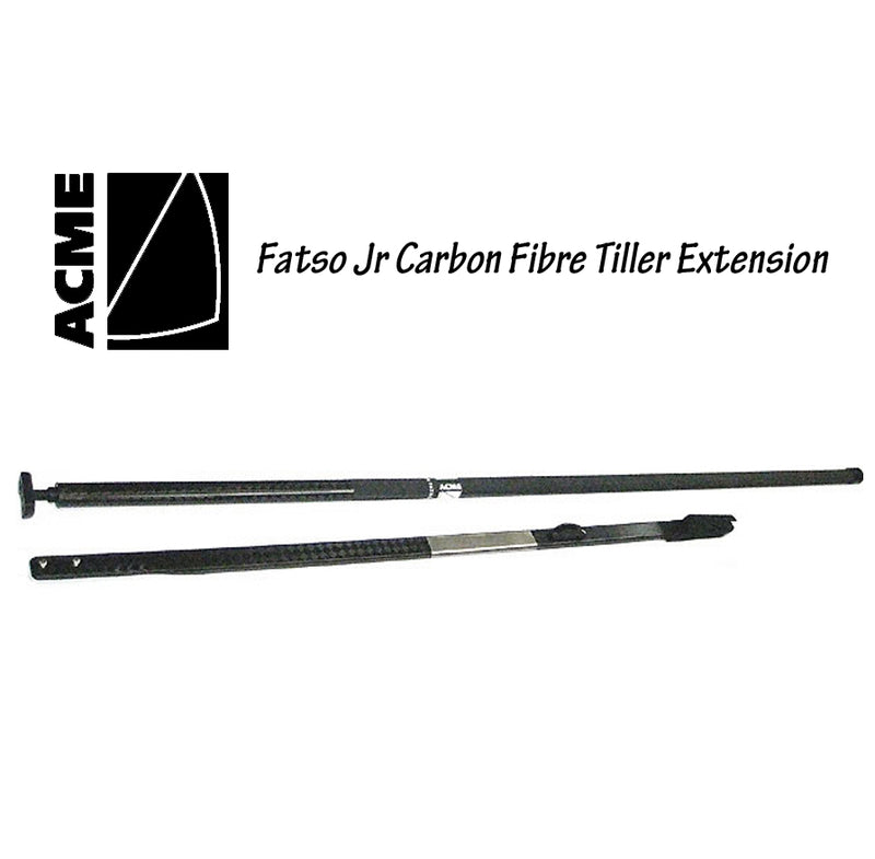 Acme Black Diamond Carbon Tiller & Fatso Jr Tiller Extn Combo