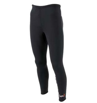Sea Gear Spandex Skins Long Pants - Black