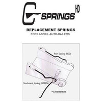 C-Springs Replacement Springs for Laser Bailers