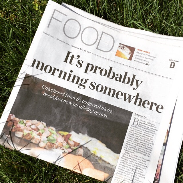 Breakfast is now an all-day option - Article in the Albany Times Union