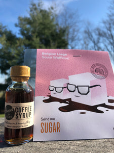 Coffee Syrup Now Available