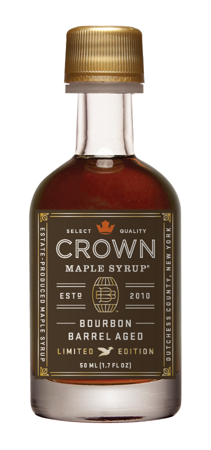 Crown Maple Bourbon Barrel Aged Organic Maple Syrup 50ml