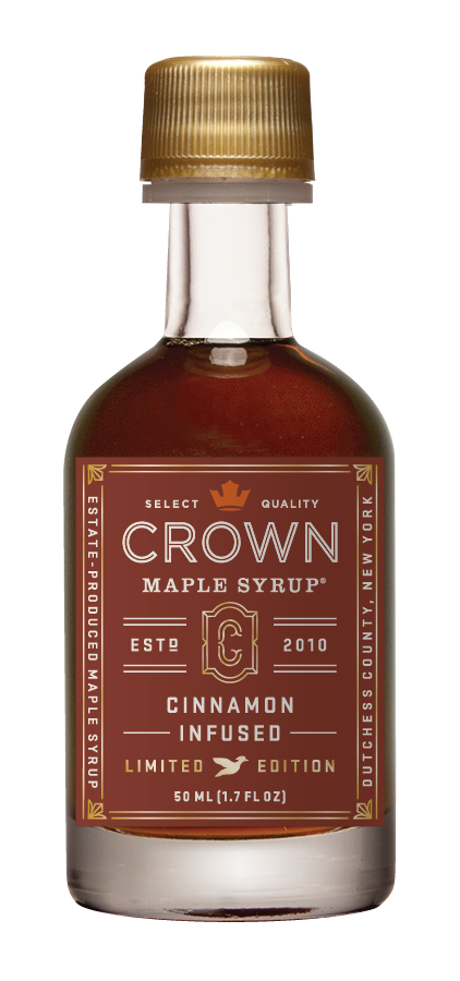 Crown Maple Cinnamon Infused Organic Maple Syrup 50ml