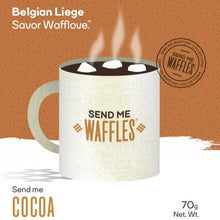 Send Me Cocoa Waffles (6 pack) or Mix with Send Me Sugar (6 pack)