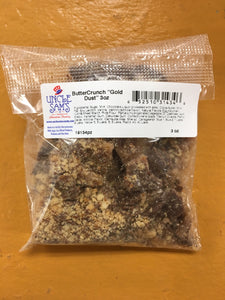 "Chocolate ButterCrunch ""Gold Dust"" by Uncle Sam's Candy 3oz"
