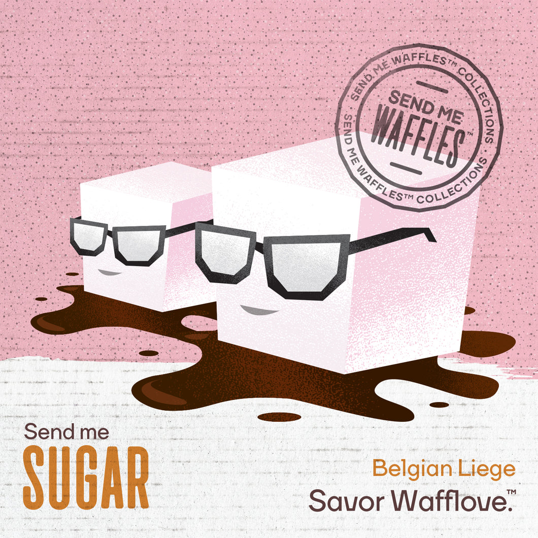 Send Me Sugar- Belgian Liege Waffle - 6 MONTH GIFT SUBSCRIPTION