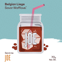 Send Me Joe- Coffee Flavored Belgian Liege Waffle