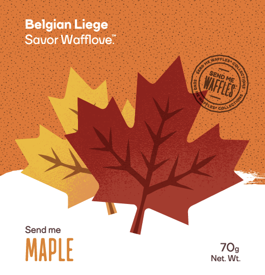 Send Me Maple- Belgian Liege Waffle - 3 MONTH GIFT SUBSCRIPTION