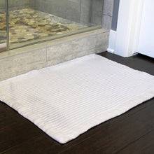 Load image into Gallery viewer, 7-Pc Modern Luxury Bath Towel Set with Waffle Bath Mat