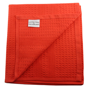 European-Style Classic Waffle Towels, All Sizes