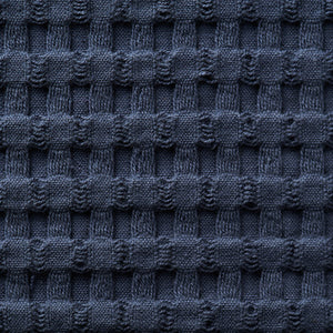 Modern Waffle Towels - oversized, quick dry towels - Midnight Blue Swatch
