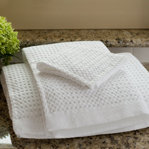 Modern Waffle Towels - oversized, quick dry towels