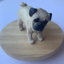 Custom pet figurine - handmade polymer clay full body sculpted statue or cake topper