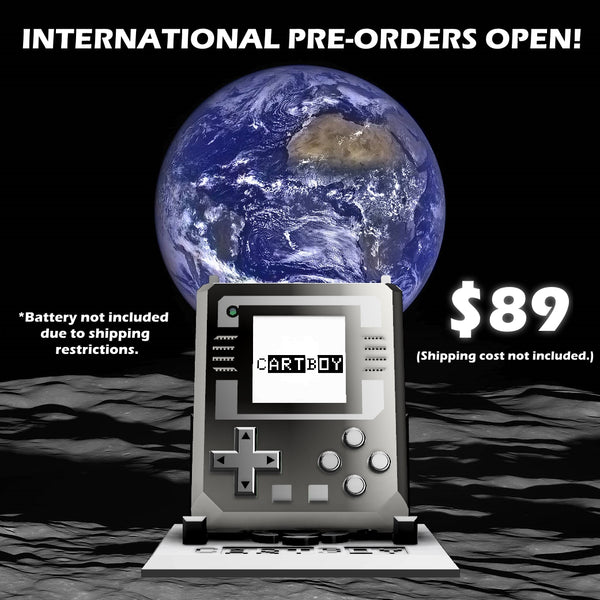International Cartboy Preorders are now OPEN!