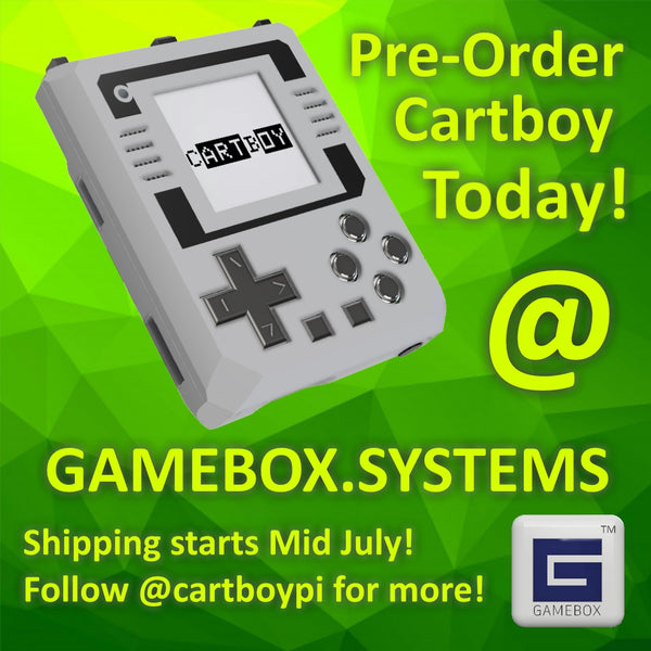 US Cartboy Preorders are now LIVE!