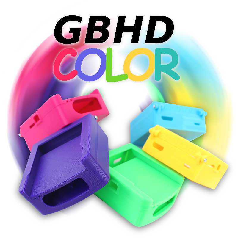 GBHD Color Kit Pre-Orders LIVE!