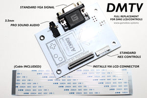 DMTV PCB (Gameboy VGA/Controller Replacement Board)