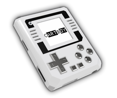 CARTBOY Handheld Retro Gaming Console
