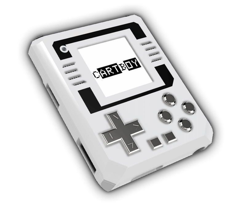CARTBOY Handheld DIY Retro Gaming Console