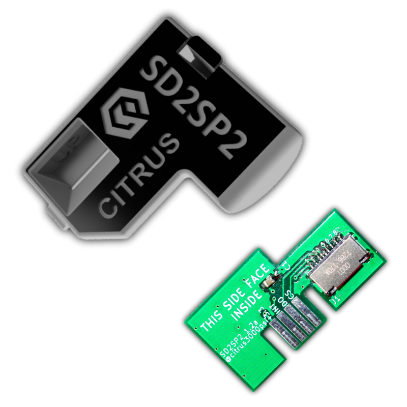 Gamecube SD2SP2 Micro SD Serial Port Adapter & Cover Kit