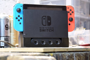 Ultimate Switch Dock - 3D print GameCube Ports Add-on to the original Nintendo Switch Dock
