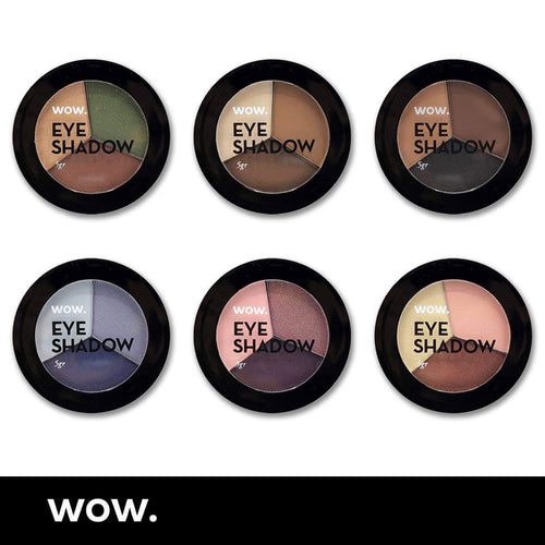 WoW. Trio eyeshadows