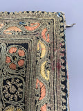 Vintage Kirness Sisters Jerusalem heavily embroidered purse - AS IS