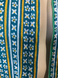 vintage 1970s designer Raksha of Hindip - London Indian print maxi dress