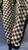 C.1920s vintage Harlequin fancy dress costume all in one