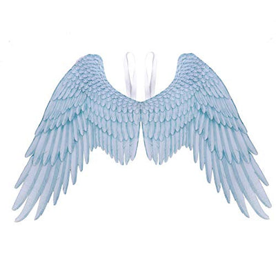 Laipi 3D Angel Wings, Halloween Costume Accessory Creative Feather Angel Wings for Adults Men Women Kids Children, Halloween Mardi Gras Decoration Props