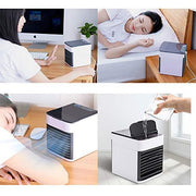 Portable Air Conditioner with Humidifier and USB - Personal