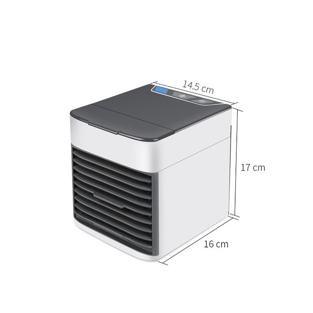 Mini USB Air Cooler Portable Air Conditioner Humidifier Purifier 7 Color Light Desktop Air Cooling Fan Air Cooler Fan for office