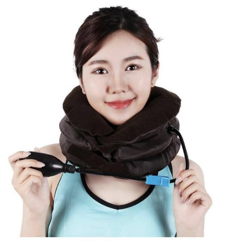 Image of Inflatable Neck Support Brace |  Neck Traction Device