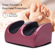 Electric Heating Foot Body Massager